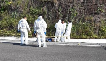 They find a body shot in a ditch on the Morelia-Salamanca motorway