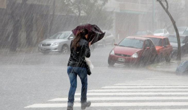 Torrential rains are forecast in areas of Tamaulipas and Veracruz