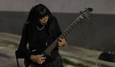 Transgender bassist fighting discrimination