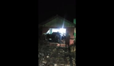 [VIDEO] They tried to assault app driver and ended up crashing into a house in Macul
