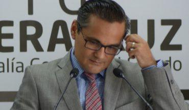 Veracruz Congress removes Jorge Winckler from Prosecutor's Office