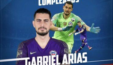 Vidal's affectionate greeting to Gabriel Arias