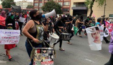 Women march to demand gender alert at CDMX