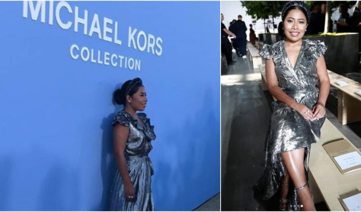 Yalitza Aparicio boasts in collection presentation of Michel Kors at NY Fashion Week