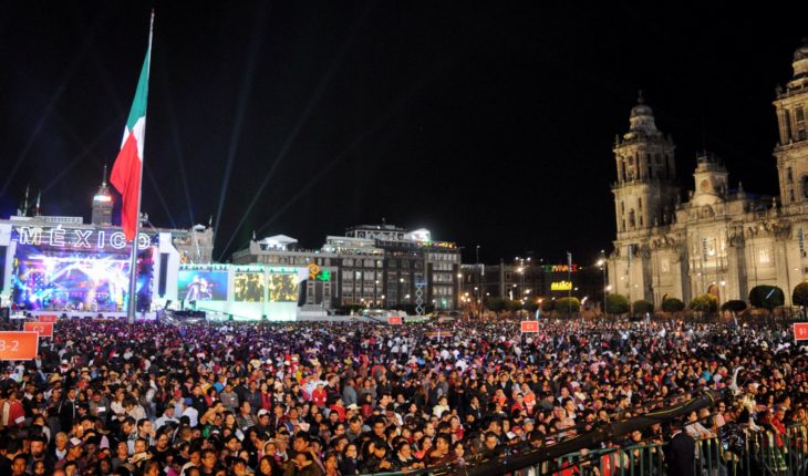 so it will be AMLO's first cry of independence
