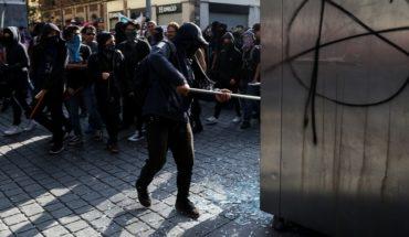14 lesionados, la mayoría policías, tras marcha del 2 de octubre