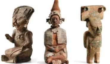 74 piezas olmecas, mayas y zapotecas se subastarán en París