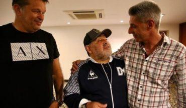Así fue el homenaje de Newell's que hizo llorar a Diego Maradona