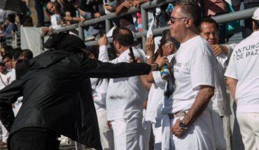 Calderón reclama a AMLO por cinturón de paz en marcha