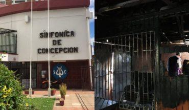 incendio corporacion sinfonica concepcion