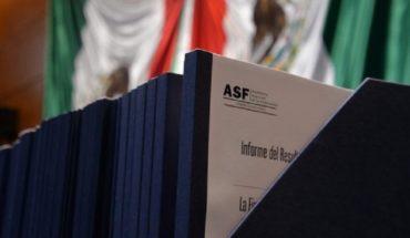 Detectan irregularidades en NAIM, CFE y estados en 2018