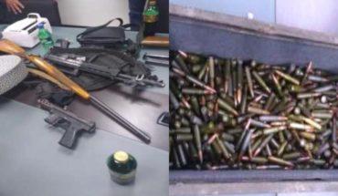 Detienen en Puebla a 13 personas con 5 toneladas de explosivos
