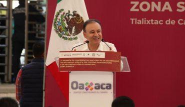 Durazo presume coordinación luego del operativo fallido en Culiacán