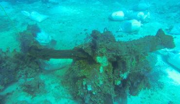 El INAH dañó un barco hundido en el Caribe hace 200 años