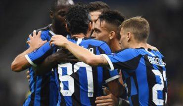 Inter vs Dortmund: Lautaro Martínez y Candreva concretan el primer triunfo de los Nerazzurri
