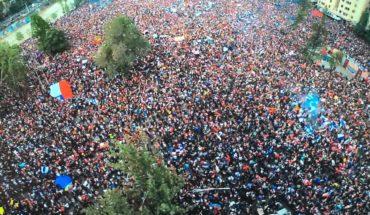 la marcha más grande de chile octubre 2019