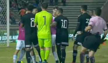 Pelea y bronca en amistoso Sub 22 entre México y Argentina en Ciudad Juárez