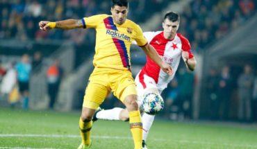Slavia Praga vs Barcelona: Messi lidera una difícil victoria de los culés