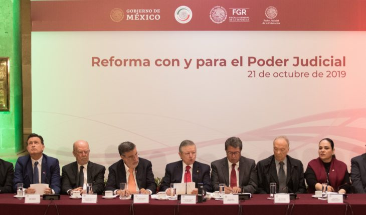 5 points of reform to the judiciary that pushes Morena