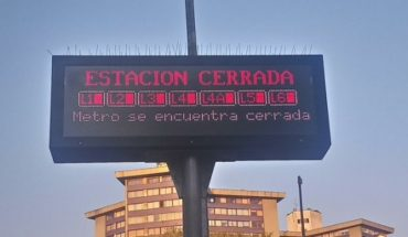 [ACTUALIZADA] Metro will be suspended all weekend