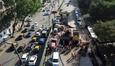 Aguas Andinas said that on October 30th will culminate repair of Avenida Providencia