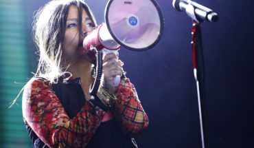 """Anita Tijoux called the world community """"to speak out in solidarity with Chile"""""""