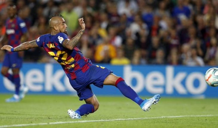 """Arturo Vidal after scoring for Barcelona: """"I am to contribute, to be important"""""""