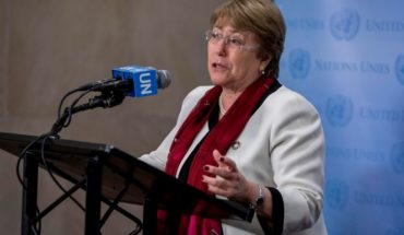 "Bachelet and protests in Chile: ""The use of inflammatory rhetoric will only serve to further aggravate the situation"""