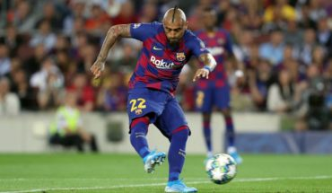 Barca opens up to the option of letting Vidal leave for Inter Milan