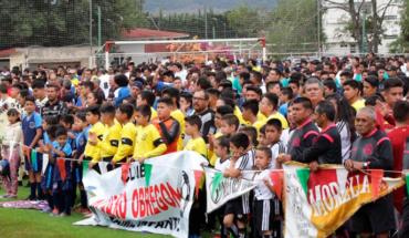 Edil de Morelia Opens the 2019/2020 season of the Morelia Municipal Amateur Football League