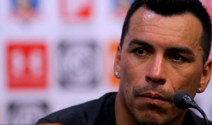 "Esteban Paredes: ""If I mark, I'll celebrate with my teammates. I won't make fun of the rival"""