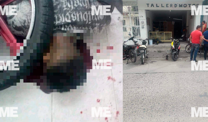 Four subjects are gunned down in motorcycle shop in Sahuayo