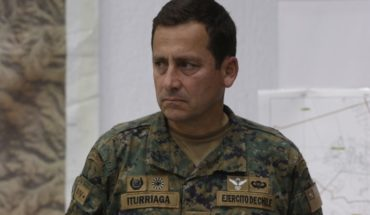 """General Iturriaga called it """"quiet"""" monday morning and said """"I'm not at war with anyone""""."""