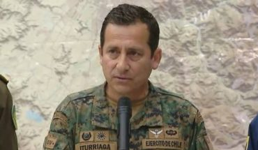Government in check and overcome by riots: General Iturriaga decreta curfew from 22.00 hours
