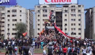 National mobilization follows: new concentration in Plaza Italia and marches in regions mark the seventh day