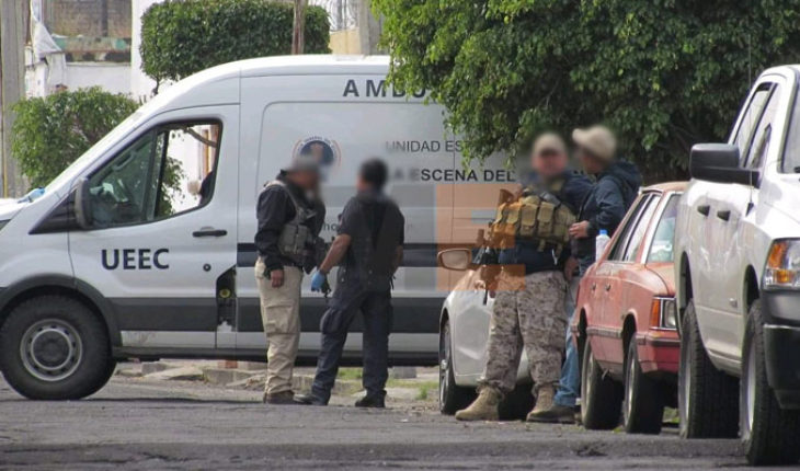 Prosecutor's office dies in shooting at criminals in Morelia, 4 assailants killed and 5 arrested