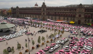 Taxi drivers will demonstrate against transport applications