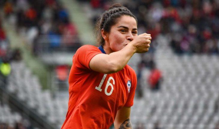 "The female ""Red"" beat Uruguay 3-1 in Rancagua"