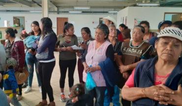 Víctor Báez pledges to meet demands of Pavator antorchists
