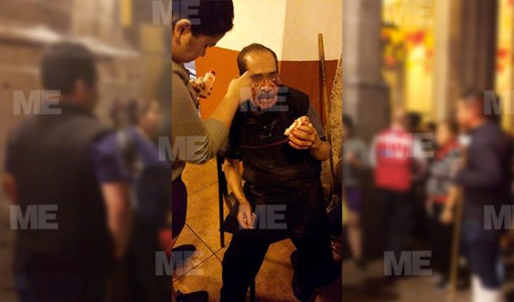 Young students brutally beat Morelia trader