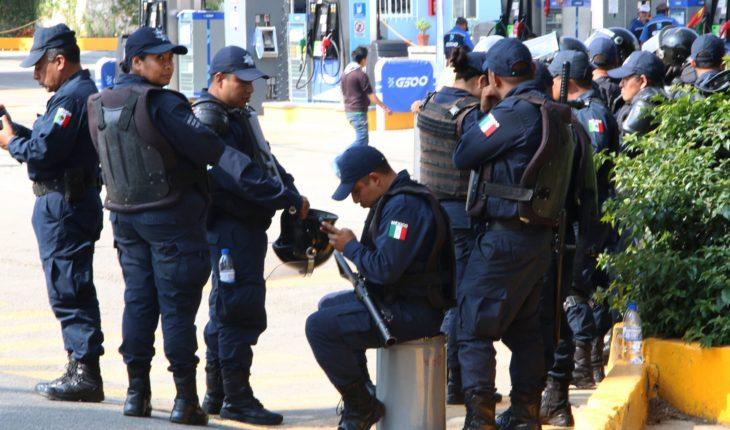 Atacan a balazos a policías estatales de Oaxaca; matan a 5 y hieren a 2