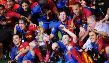 Barcelona le paga sueldos vitalicios a sus campeones de Europa