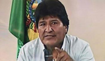 Evo Morales llegará a las 11 de la mañana a México