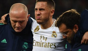 Hazard enciende las alarmas en el Real Madrid con una nueva lesión