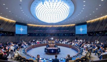 Primera reunión del Consejo del Atlántico Norte en la nueva sede de la OTAN (mayo de 2018). Foto: NATO North Atlantic Treaty Organization (CC BY-NC-ND 2.0). Blog Elcano