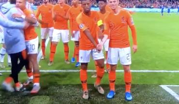 La celebración de Wijnaldum y De Jong que ha dado la vuelta al mundo