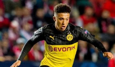 PSG podría ser la ruta de salida de Jadon Sancho del Borussia Dortmund