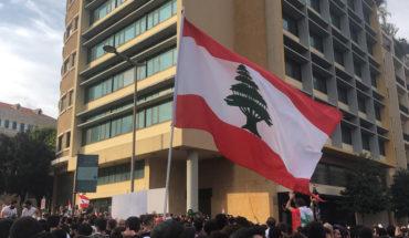 Protestas en el mundo árabe: un río que no cesa. Protestas en Beirut (Líbano), octubre de 2019. Foto: Shahen books (Wikimedia Commons / CC BY-SA 4.0). Blog Elcano