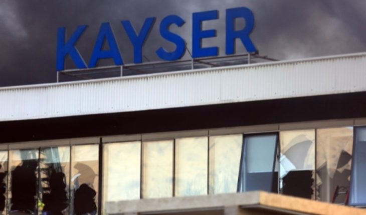 17-year-old man killed in fire from Kayser factory had three holes in the chest that were not measured by the SML