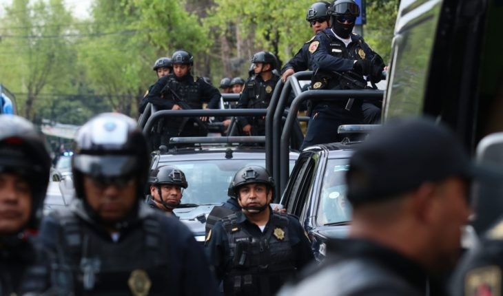 A CDMX police report harassment and sexual abuse of her boss